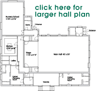 Pirrie Hall Room Plan